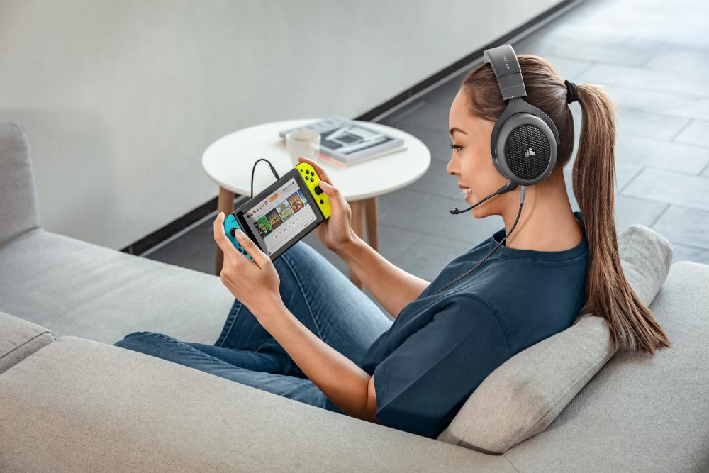 Corsair HS70, los nuevos auriculares Bluetooth multiplataformas 1