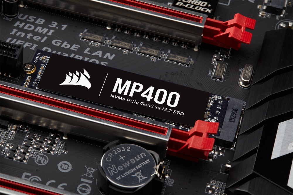 Corsair lanza sus nuevas SSD MP400 de hasta 8TB 2