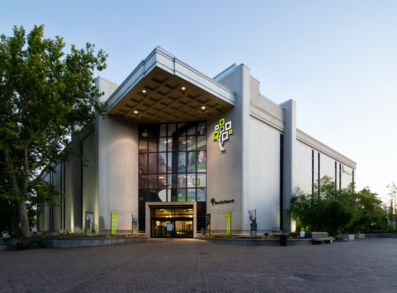The FamilySearch Family History Library in Salt Lake City, Utah.
