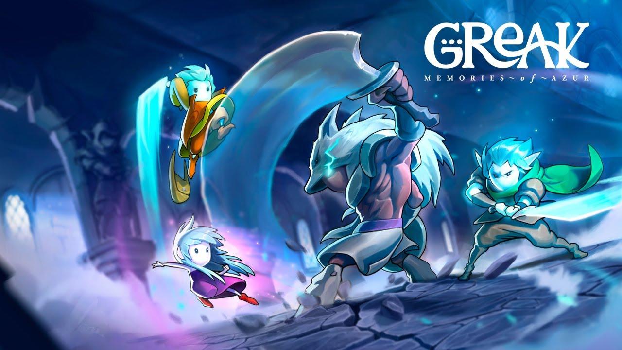 Greak: Memories of Azur Announcement Trailer! - YouTube