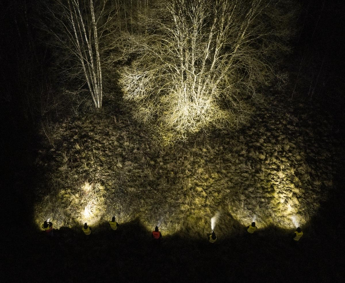 En bild som visar mörk, natt  Automatiskt genererad beskrivning
